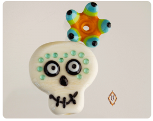 day of dead bead