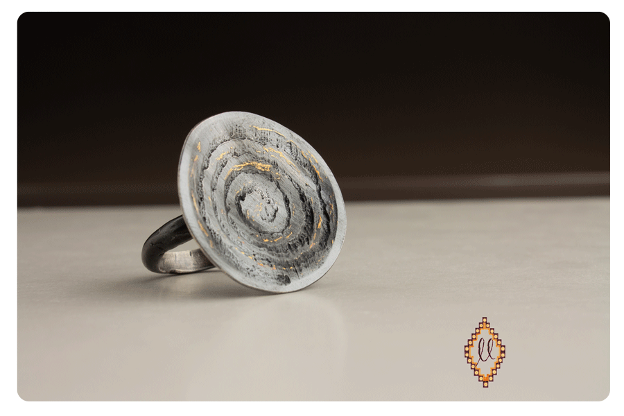 spiral,labyrinth ring