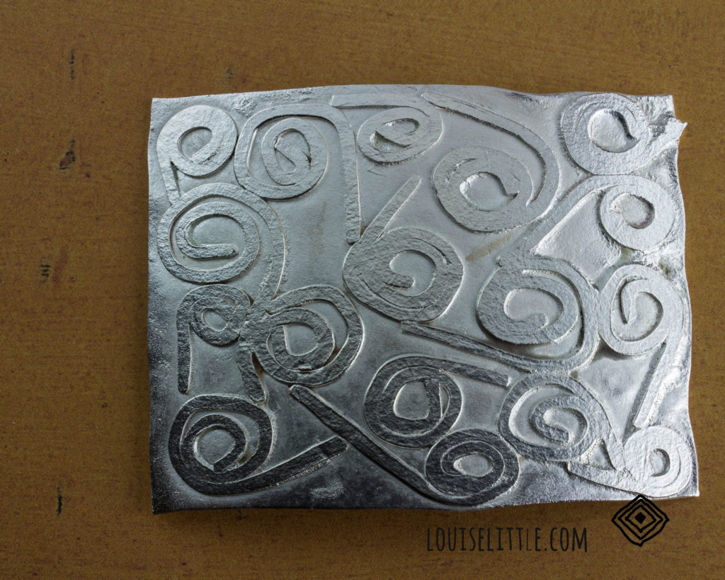 textured metal for art jewelry