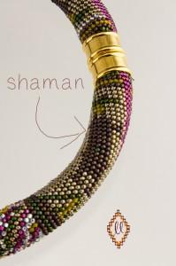 shaman closeup