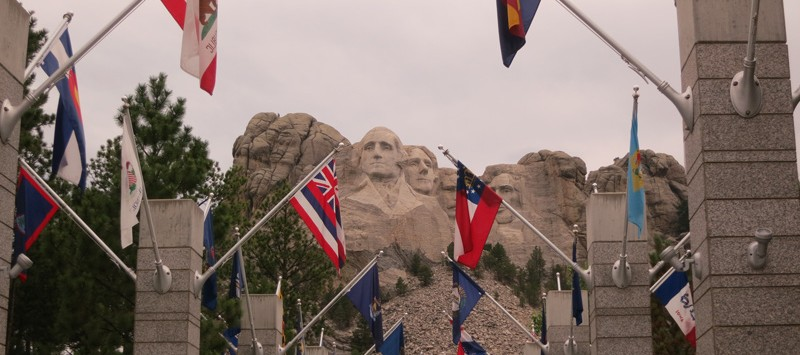 Vacation Mt Rushmore
