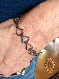 chain on wrist