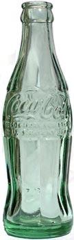 Embossed Coke bottle