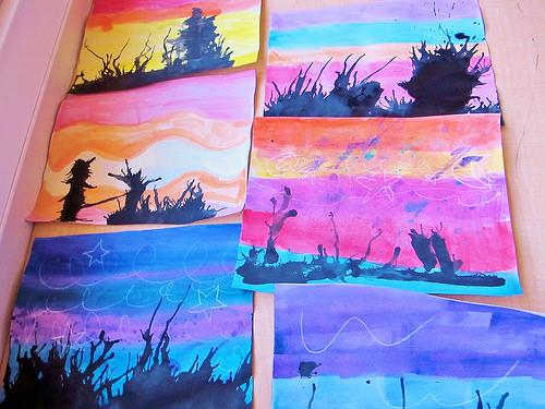 high desert colors