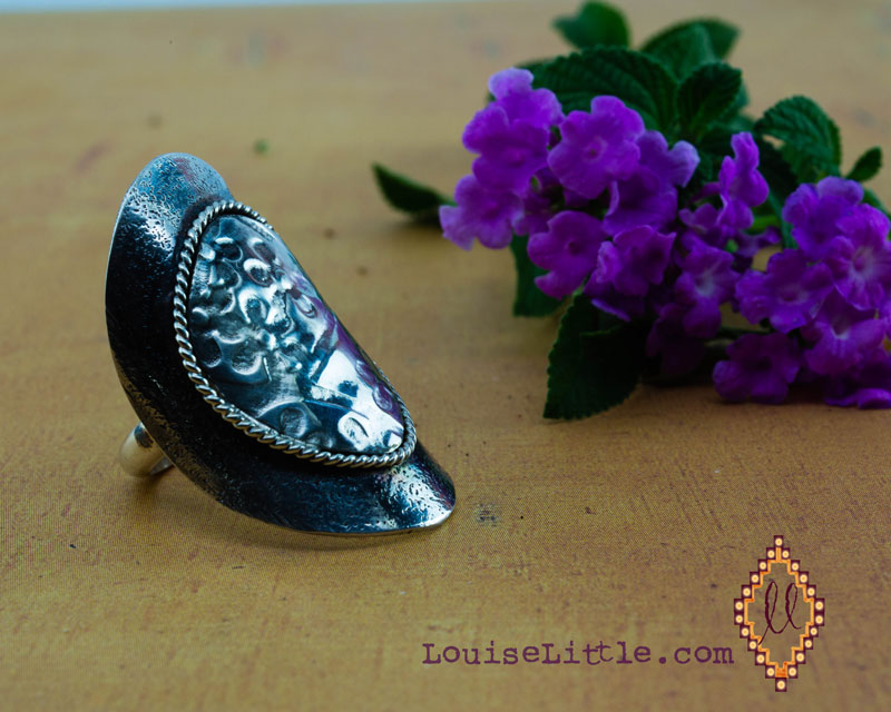 saddle ring by Louise Little