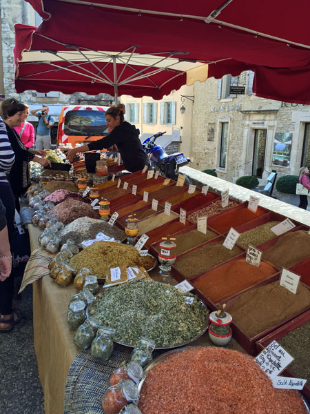 Provence - market