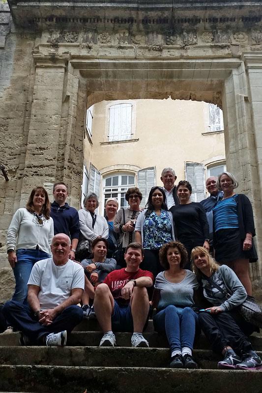 Provence abbey