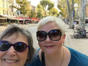 Ashley and me in Provence