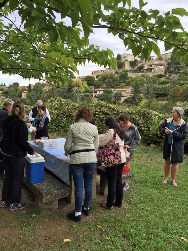 Provence - picnic