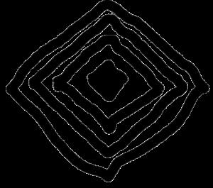 diamond logo minimalist