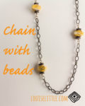 Handmade Chain with Beads