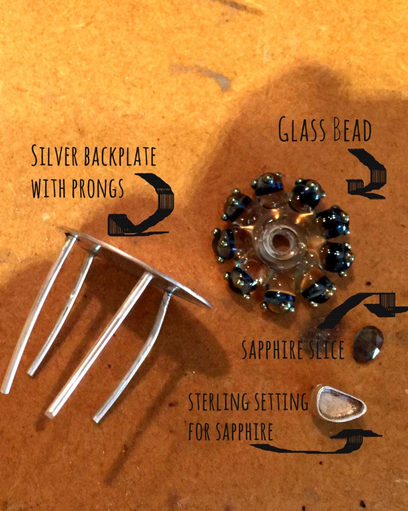 art jewelry - wip