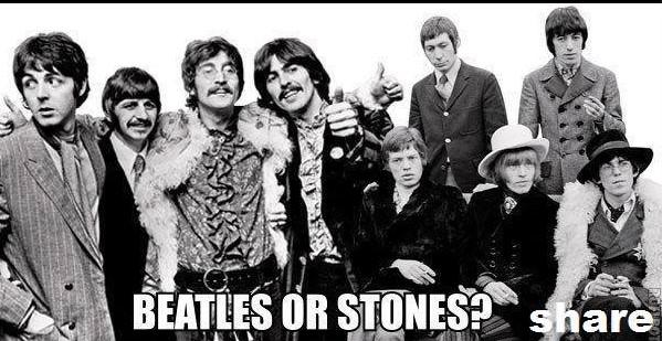 beatles or stones