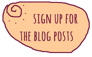 blog post button