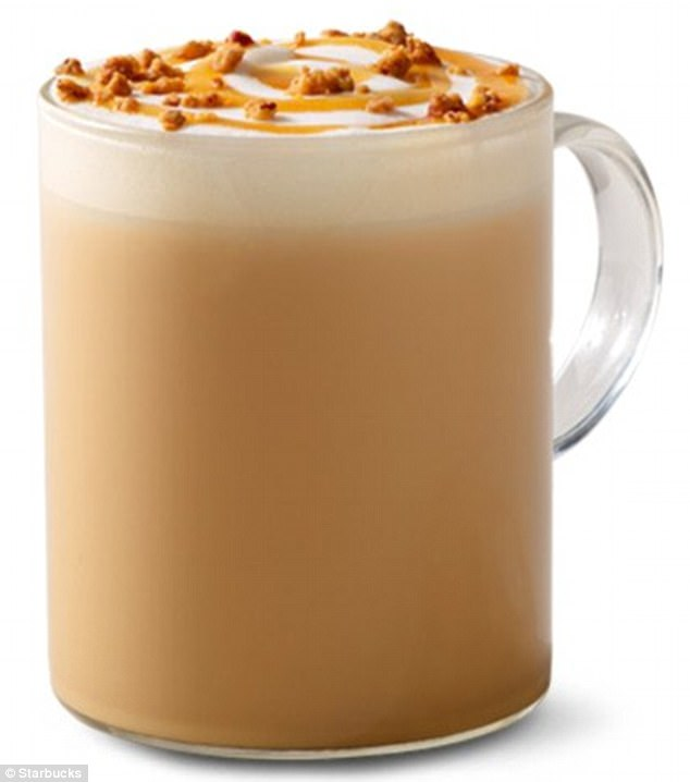 starbucks maple pecan latte