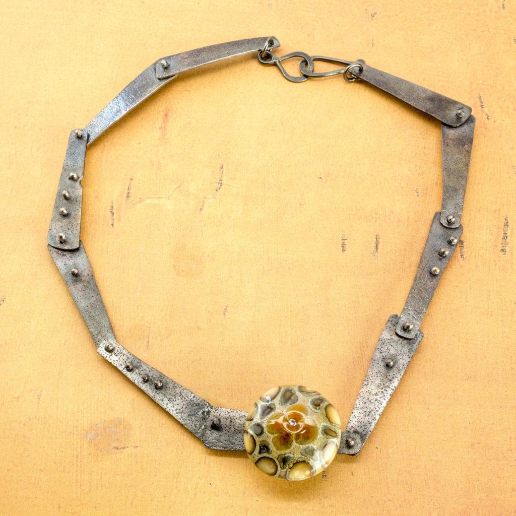 yucca leaf necklace