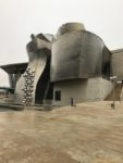 Vacation and the Guggenheim – Bilboa – the museum building is art itself