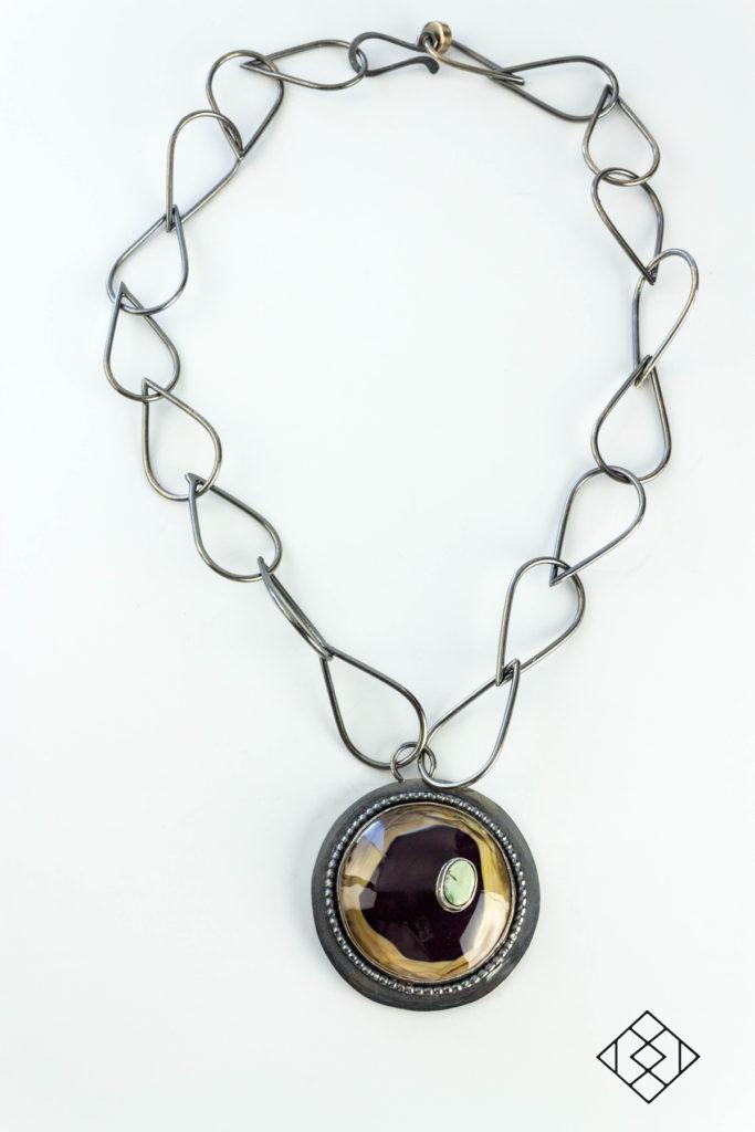 statement-necklace-glass-lampwork-cabochon