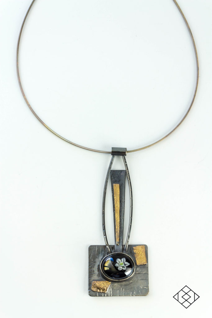 statement-necklace-murrine-glass-cabochon